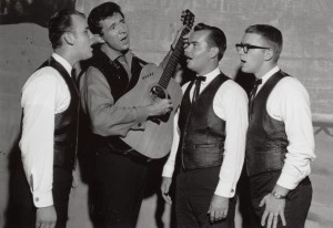 Sonny James w-Glenn Gary Lin on night of 1st Opry appearance 08-15-1964